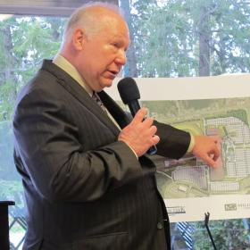 Millennium Gaming co-CEO Bill Wortman explains the company's updated plan for Rockingham Park.