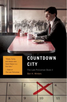 The cover of Countdown City, by Ben H. Winters