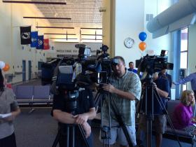 A look at the media covering Allegiant's announcement.