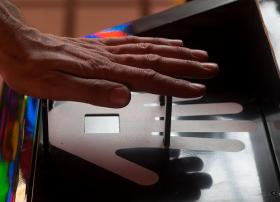 Biometric Security, Non-Contact Hand Vein Scan