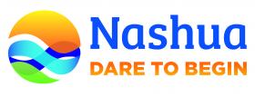 Nashua's new logo and tagline.