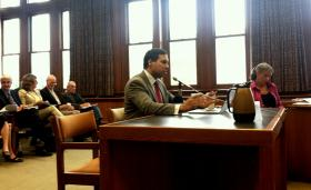 Avik Roy presents before the commission studying a possible Medicaid expansion in New Hampshire.