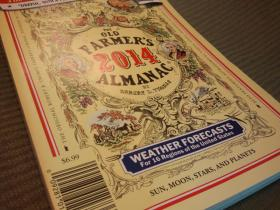 The 2014 Old Farmer's Almanac.