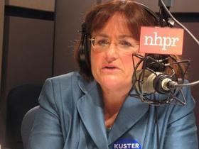 Kuster, appearing on NHPR's The Exchange in 2010