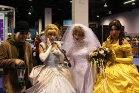 Yes, there are Disney cosplayers, too!