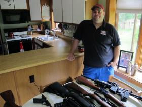 Alan started his business with antique firearms collectors in mind.