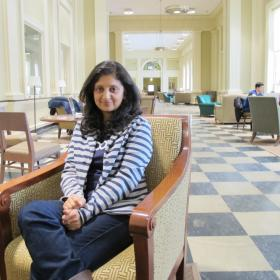 Rima Murthy was trained in advanced smartphone applications at Dartmouth College, but she's not planning on staying in N.H.