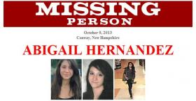 The FBI has posted these photos of Abigail Hernandez on their website.
