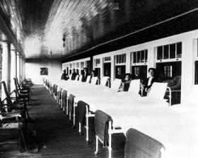 Archive photo of the Glenncliff Sanatorium for TB patients