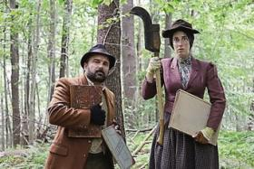 "Brent Askari and Rebecca Rudolf star in ""Uncle Vanya in Maine."""