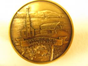 Commemorative 250 coin for Sandwich, NH