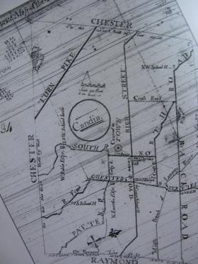 Old Map of Candia
