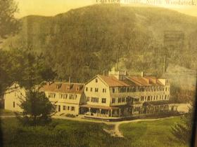 The Fairview House one of the grand hotels in North Woodstock