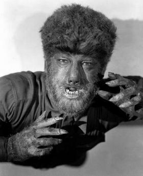 Lon Chaney Jr. as The Wolf Man