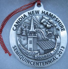 Commemorative ornament for the 250th celebration of Candia