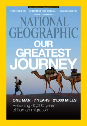 All images are from the December issue of National Geographic Magazine