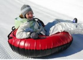 Ragged Mountain in Danbury recently opened up a new snow tube park.