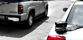 A license-plate scanner made by COBAN Technologies.