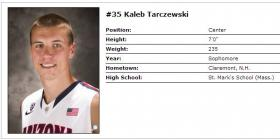Tarczewski's official head shot and bio