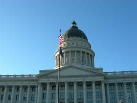 Utah's Statehouse in Salt Lake City