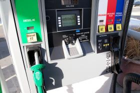 A Spotless Gas Pump