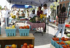 The Winooski Farmer's Market is one of 76 Vermont markets operating this year.