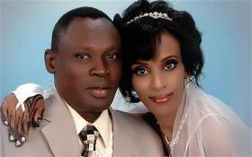 Meriam Ibrahim and her husband Daniel Wani were married in 2011.