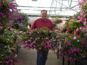 A look inside Murray Farms' greenhouse.