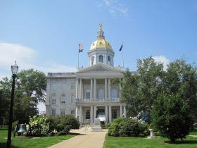 The Capitol Building.
