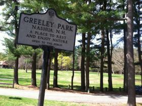 Greeley Park in Nashua