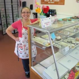 Lia Liporto owns New England Cupcakery in Concord