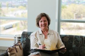 Patti Hayes left a full-time job to launch her consulting business.