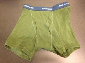 Can you correctly guess if this pair of boxer briefs is a Men's Small, or a Boys' XL? Taylor is betting you can't. Find out the answer by scrolling down to the bottom of the post.
