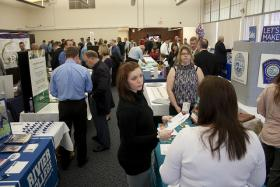 a New Hampshire job fair