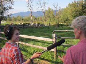 Emily Corwin interviews beef farmer Kris von Dohrmann of Otokahe Farms, summer 2013