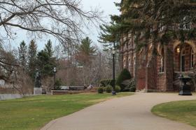 The campus at St. Anselm College