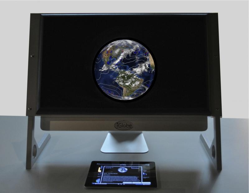 "iGlobe PersonalPlanet is a ""planetarium in a box,"" according to Matt Cookson of the New Hampshire High Tech Council. It's one of the finalists in the Council's Product of the Year event in Manchester."