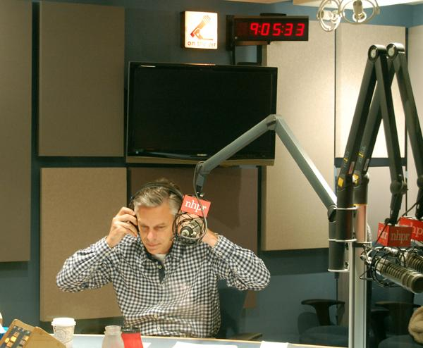 Governor Jon Huntsman joins Laura in the studio this morning.