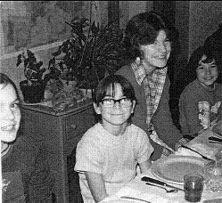 Virginia Prescott, left, at age 9 with brother Steven, sister Margaret and brother Mark