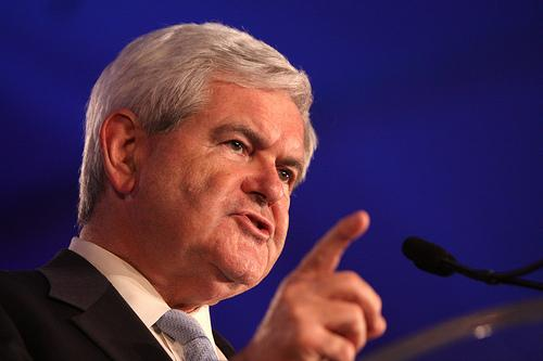 Newt Gingrich on the trail