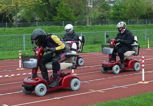 scooter race
