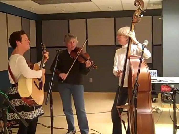Sweet, Hot & Sassy perform live for the Folk Show at the NHPR studio.