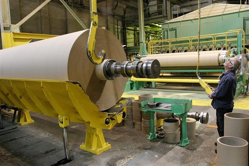 The plant is making paper towels and stationary but officials say the big economic boost will come with a new tissue machine expected to be operating by the end of next September.