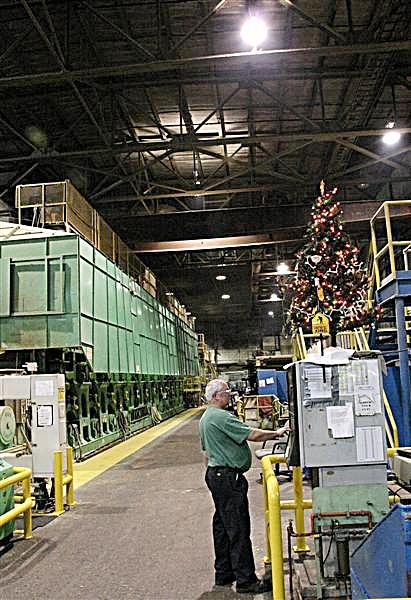 A year ago some workers never thought they'd see another Christmas at the plant.