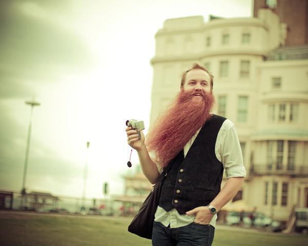 Beard champion Jack Passion