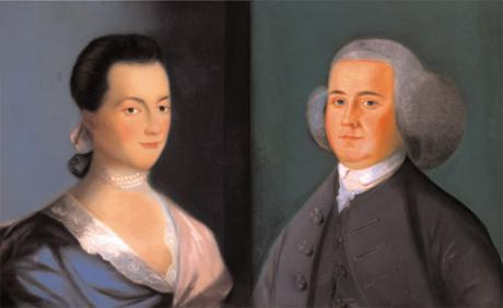 Portrait of John and Abigail Adams