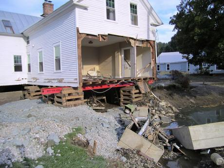 West Hartford VT Home Destroyed By Tropical Storm Irene