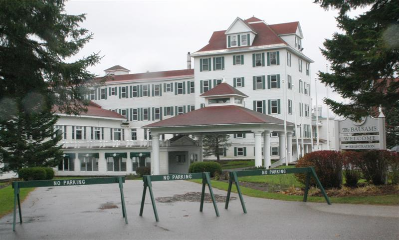 The famous resort has been closed since early fall.