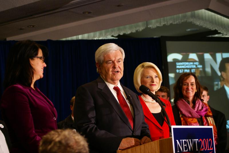 Gingrich pushes on to South Carolina.