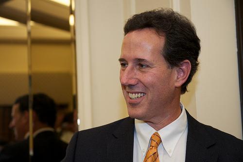 Republican presidential candidate Rick Santorum.